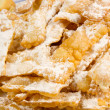 """chiacchiere"" sweet cookies — Stock Photo #20135771"