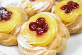 Original zeppole — Stock Photo