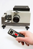 Slide projector — Stock Photo