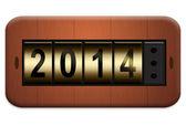 コンセント プレート 2014 — ストック写真
