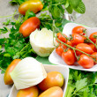 Stockfoto: Fennel and tomatoes