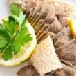 Tripe with lemon — 图库照片