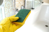 清洁浴 — 图库照片