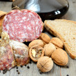 Genuine salami — Stock Photo #27211801