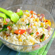Salad rice — Stock Photo