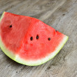 Red watermelon — Stockfoto