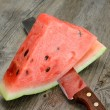 Red watermelon — Photo