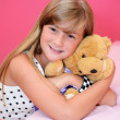 Blond little girl — Lizenzfreies Foto