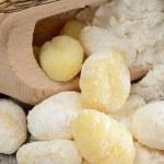 Flour dumplings gnocchi — Stock Photo #31362829