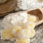 Flour dumplings gnocchi — Stock Photo #31363363