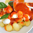 Stock Photo: Gnocchi Sorrento
