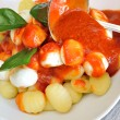 Foto Stock: Gnocchi Sorrento