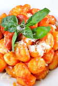 Gnocchi Sorrento — Stock Photo