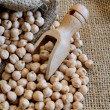 Dried chickpeas — Stockfoto