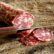 Genuine salami — Stock Photo