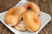 Donut fried — Stock Photo
