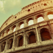 Aged coliseum rome — Stock Photo
