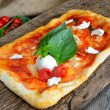 Wood-fired pizzas — Foto Stock