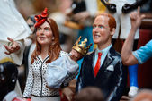 Famous puppets by Naples — Foto Stock