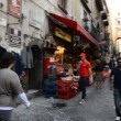 Naples, San Gregorio Armeno in Christmas time — Stock Video