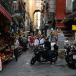 San gregorio street armeno naples italy — Stock Video