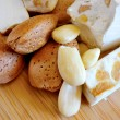 Honey nougat with almonds — Lizenzfreies Foto