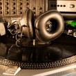 Stock Photo: Vintage audio equipment
