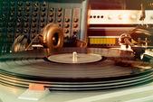 老式的音频设备 — 图库照片