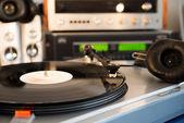 Vintage audio equipment — Stock Photo