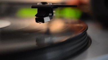 Vintage audio equipment3 — Stock Video