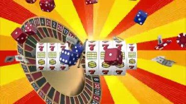 Game casino — Stock Video