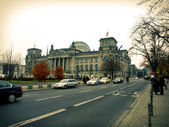 Reichstag of berlin — Stock Photo