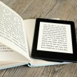 Foto Stock: Ebook reader