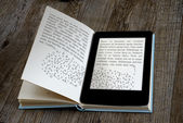 Lecteur d'ebook — Photo