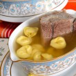 Stock Photo: Meat for broth