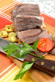 Meat for broth — Stock Photo