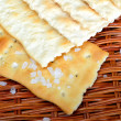 Golden crispy crackers — Stock Photo #40862497