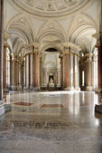 Interior of caserta palace — Stock Photo