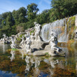 Waterfalls water gardens of Royal Palace — Stock Photo #41431601