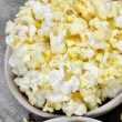 Crunchy chips and popcorn — Stock Photo #41997673