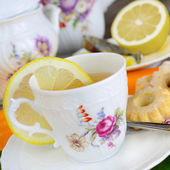 Tea breakfast — Foto de Stock