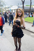 Comicon Naples Italy 2014 — Stock Photo
