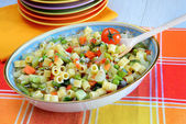 Minestrone vegetables — Stock Photo
