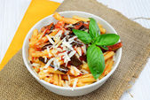 Pasta alla Norma — Stock Photo