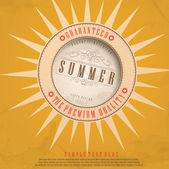 Fond de l'été. — Vecteur