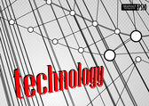 Technology background. — ストックベクタ