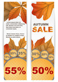 Autumn sale. — Stock Vector