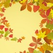 Autumn background. — Stock Vector