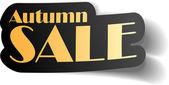 Autumn sale. — Stock Vector