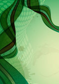 Abstract green background. — Cтоковый вектор